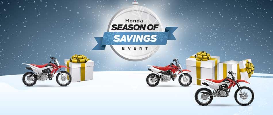 Season Of Savings Event : Motorcycles