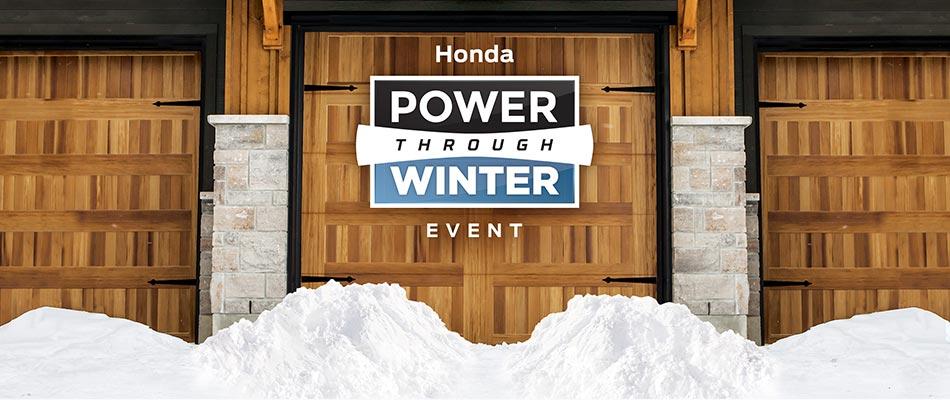 Power Thru Winter Event at Kanata Honda