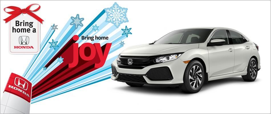 Save $750 on 2017 Civic Hatchbacks