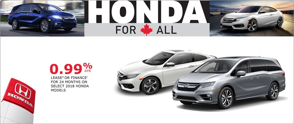 Special Financing on Select 2018s