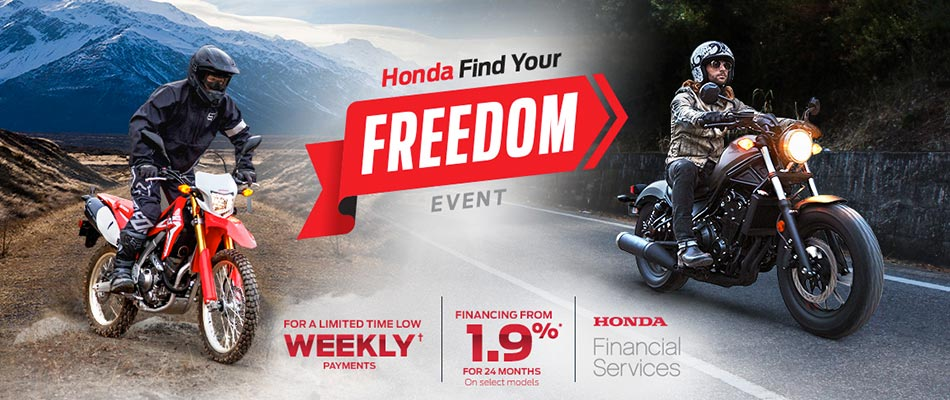 Find Your Freedom Event : Motorcycles