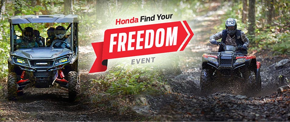 Find Your Freedom Event : ATV and SxS
