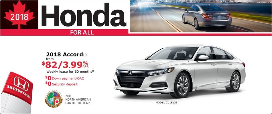 Save on Accord at Kanata Honda