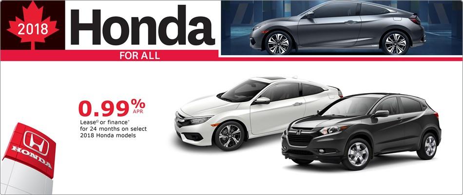 Special Financing at Kanata Honda