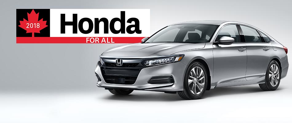 2018 Accord from $82 Weekly