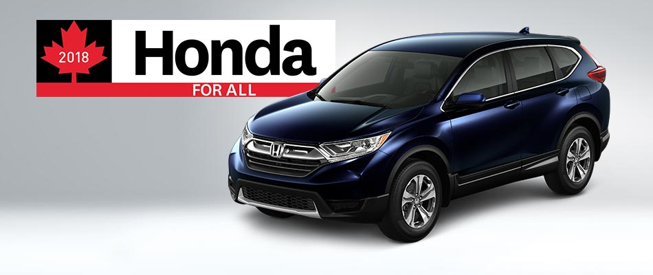 2018 CR-V from $82 Weekly