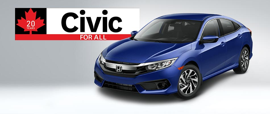 2018 Civic SE from $69 Weekly