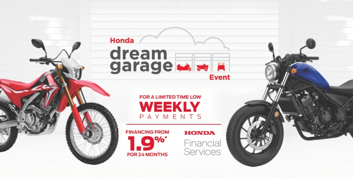 Dream Garage Event : Motorcycles