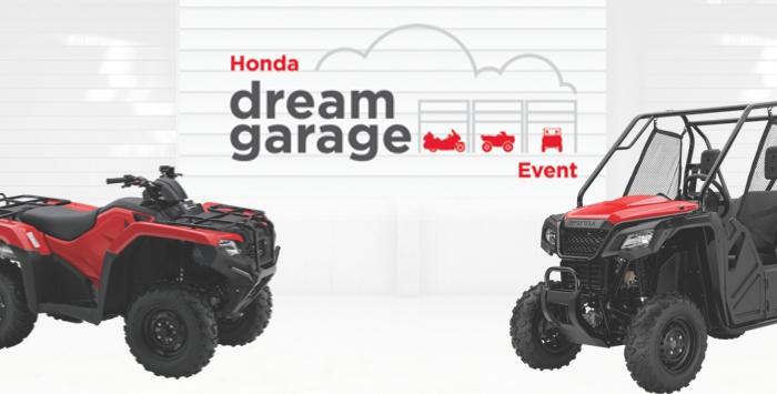 Dream Garage Event : ATV and SxS