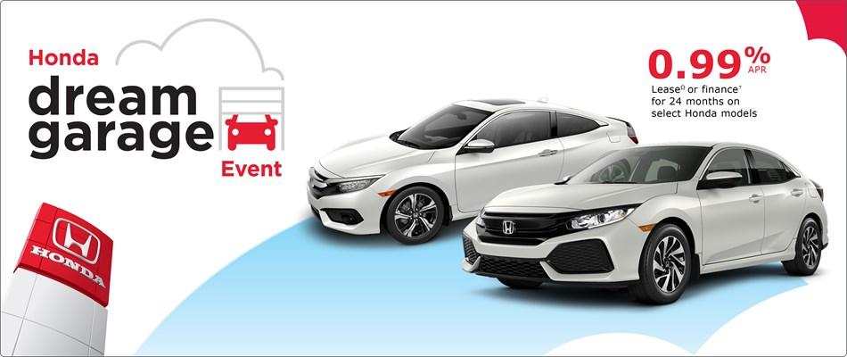 0.99% Financing at Kanata Honda