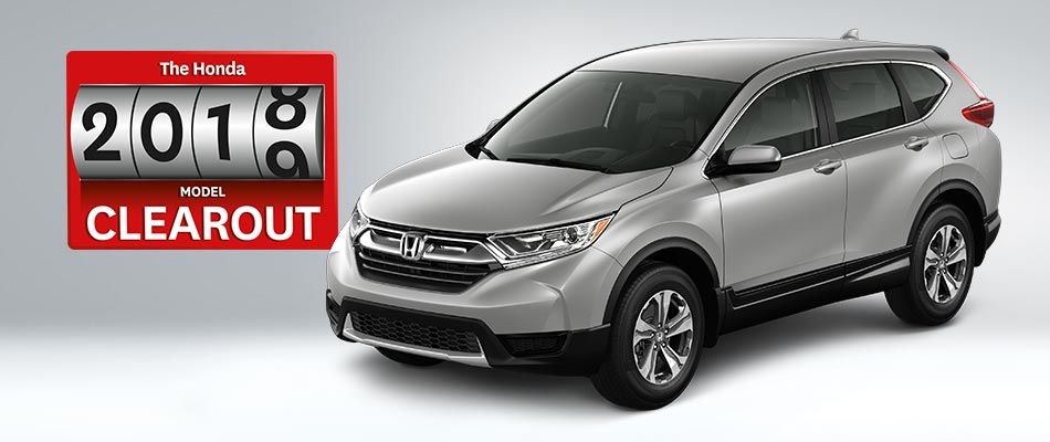 2018 CR-V from $78 Weekly