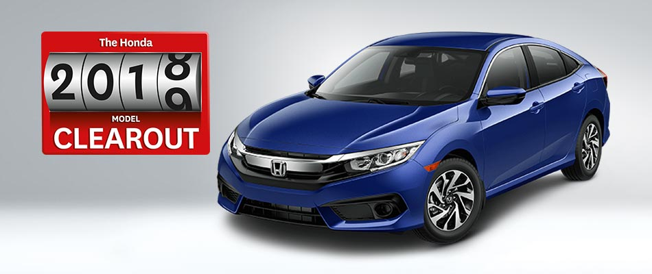 2018 Civic SE from $63 Weekly