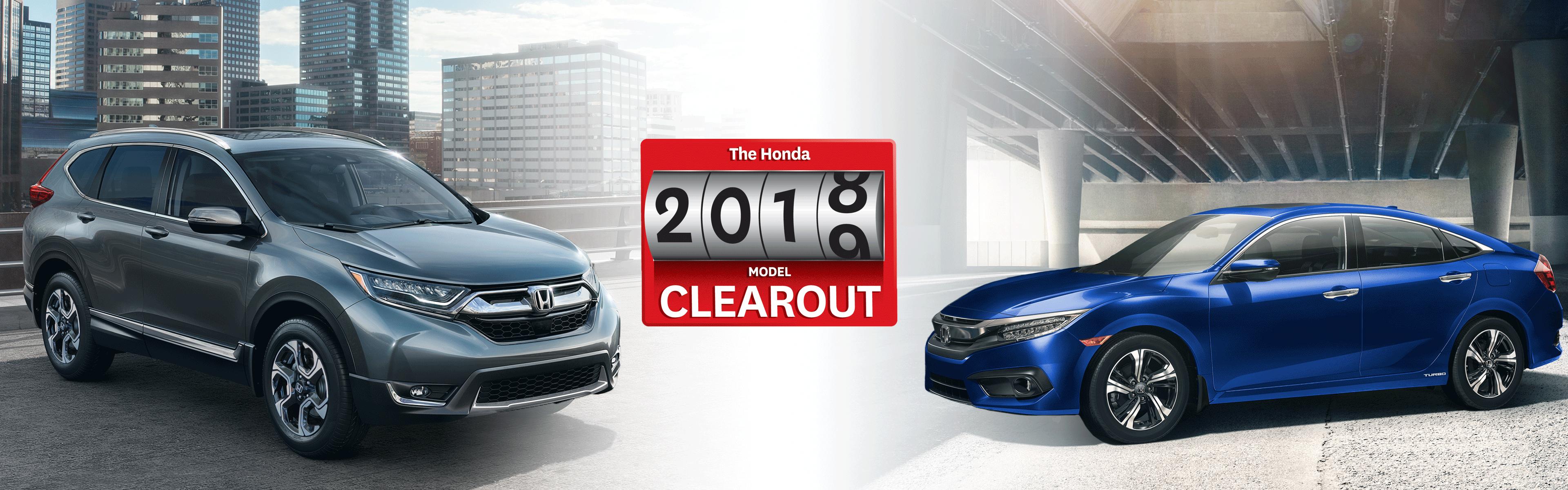 2018 Honda Clearout at Kanata Honda