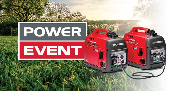 Kanata Power Event Specials: Generators