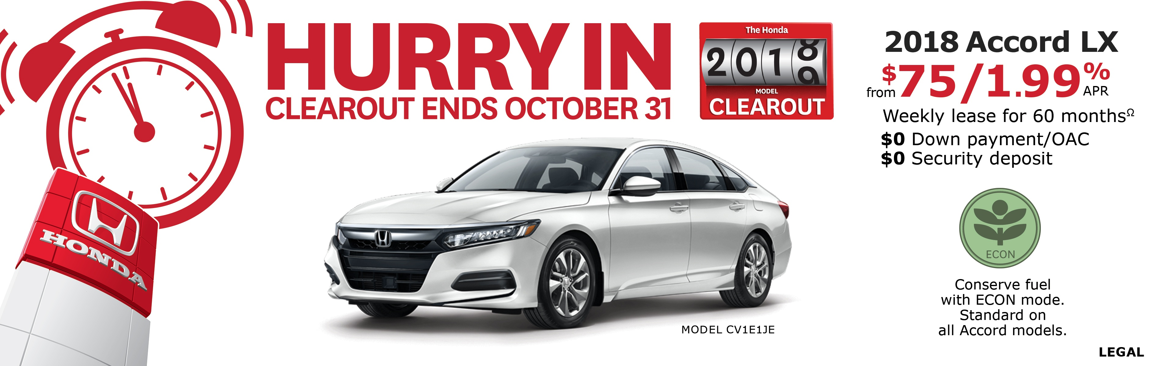 Save on Accord at Kanata Honda