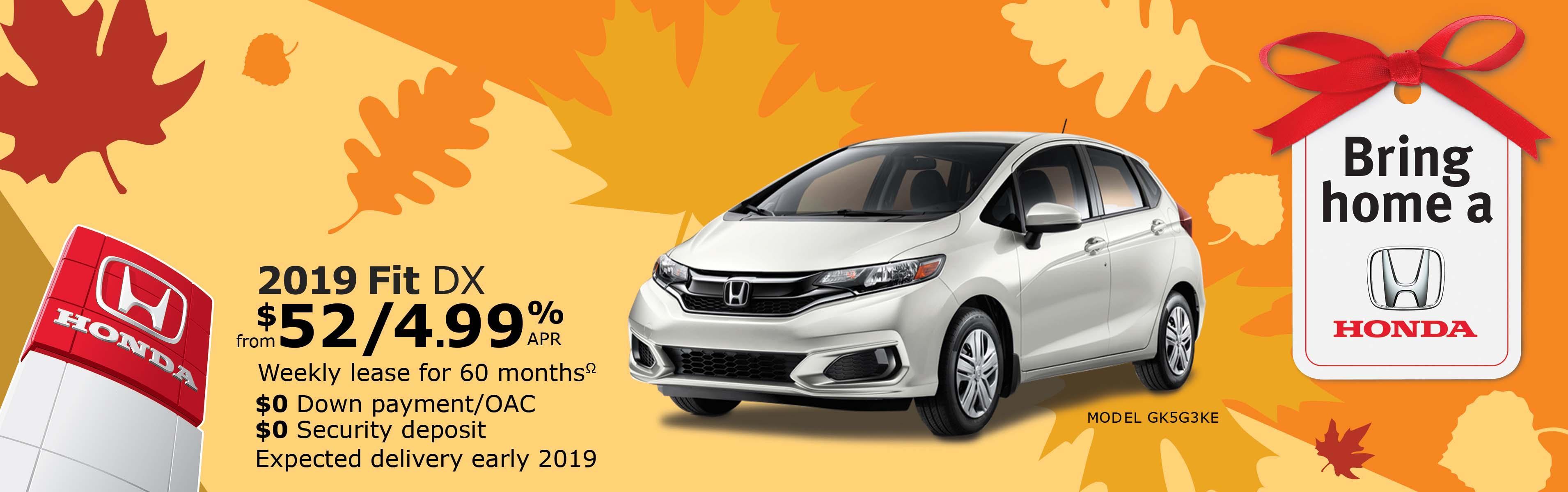 Save on Fit at Kanata Honda