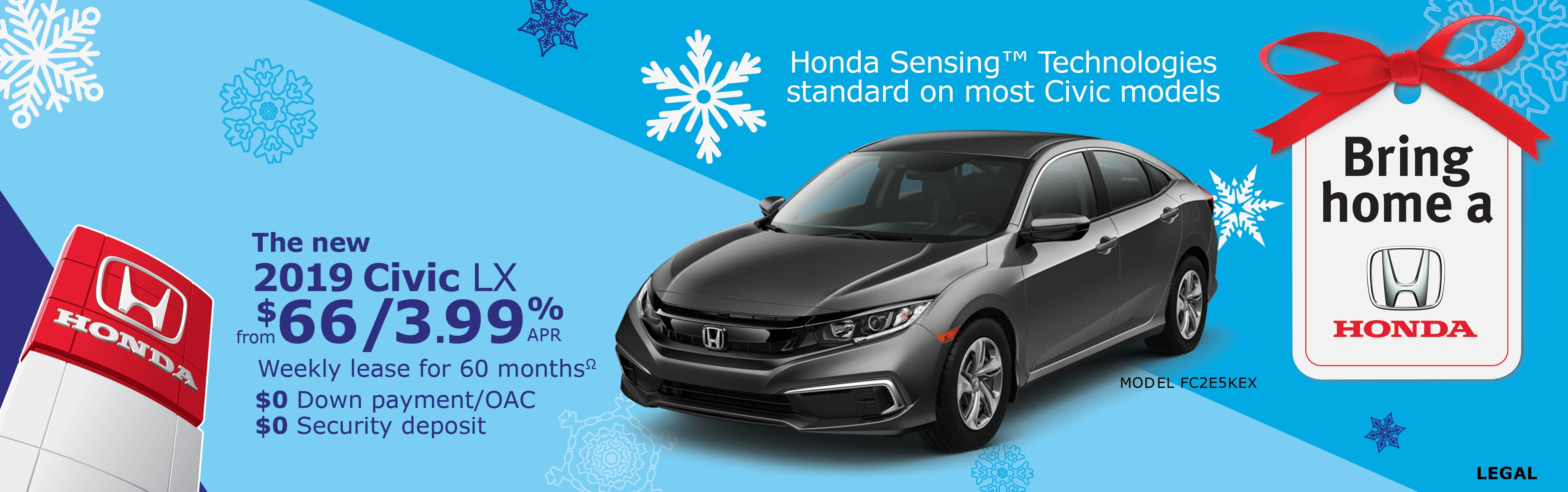 Save on Civic at Kanata Honda