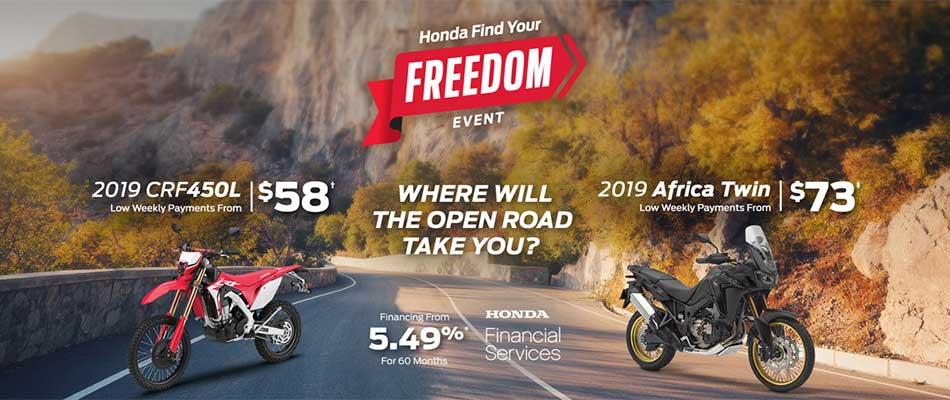 Save on Motorcycles at Kanata Honda