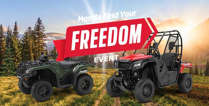 Find Your Freedom Event: ATV and SxS