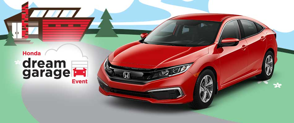 2019 Civic LX from $60 Weekly