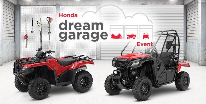 Dream Garage Event: ATV and SxS