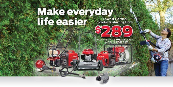 Kanata Power Event: Lawn & Garden