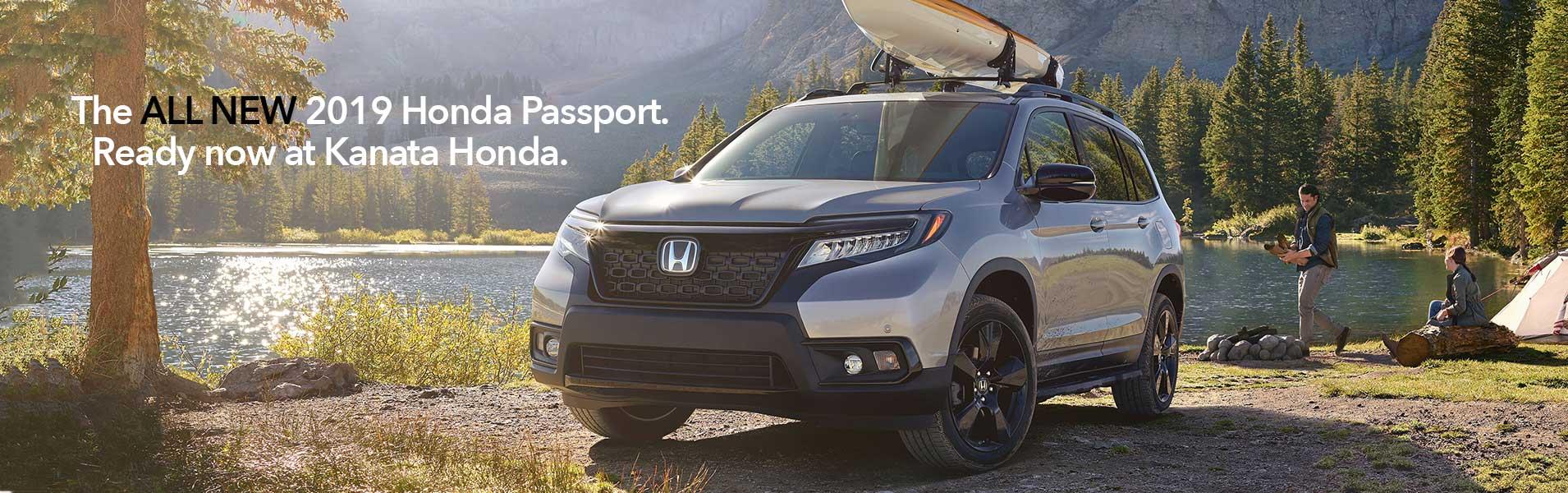 Honda Passport at Kanata Honda.