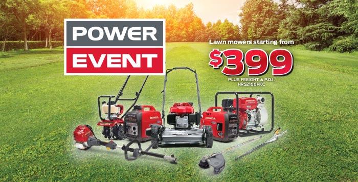 Power Event: Lawn & Garden