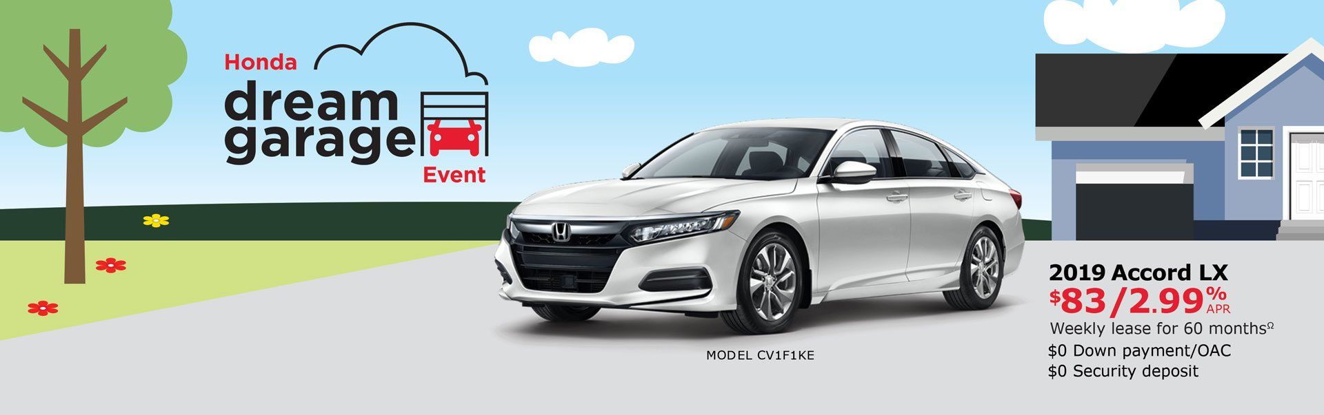 2019 Accord from $83 Weekly