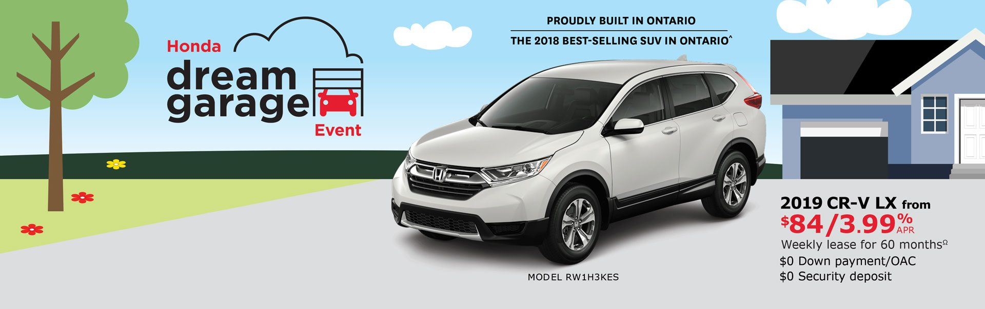 2019 CR-V from $84 Weekly