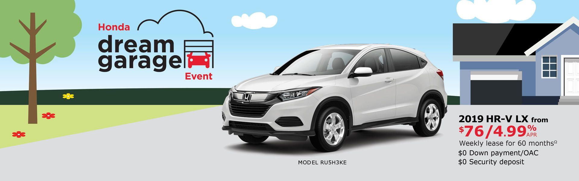 2019 HR-V from $76 Weekly