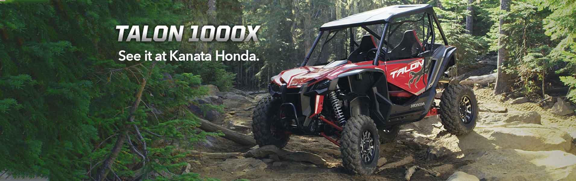 New Talon 1000X at Kanata Honda