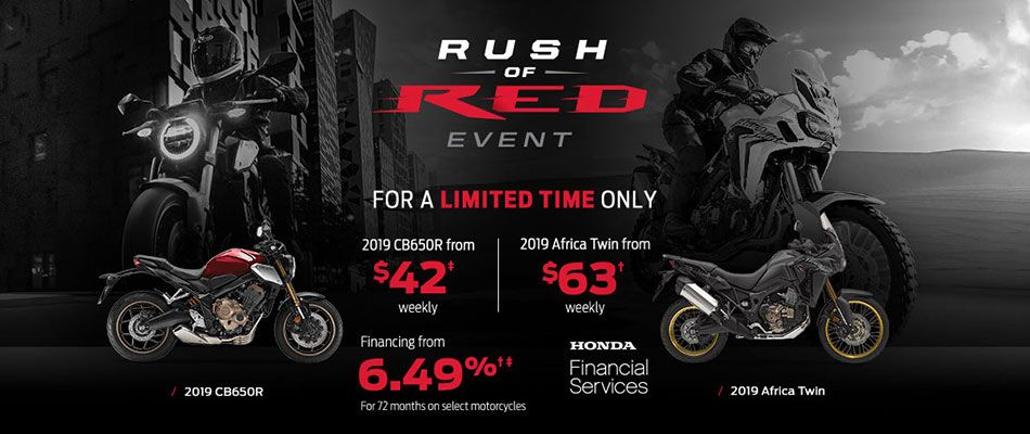 Rush of Red Event at Kanata Honda