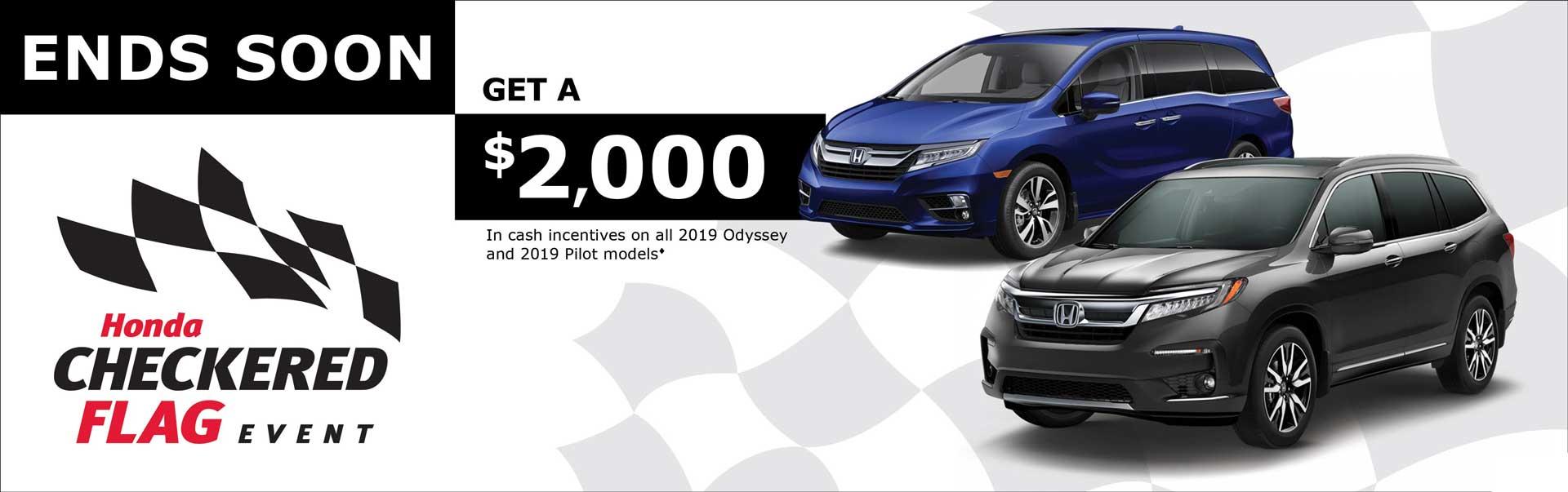 Save on Odyssey at Kanata Honda