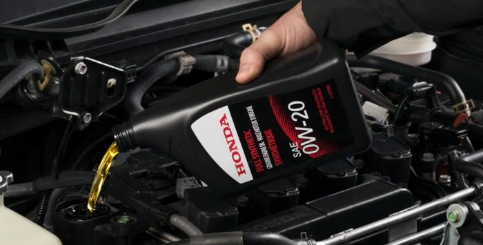 Genuine Honda Oil Change