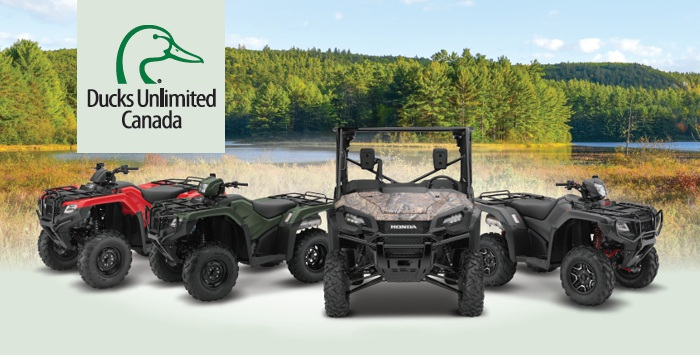 Ducks Unlimited Members Discount at Kanata Honda