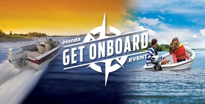 """Get Onboard"" Marine sales event"