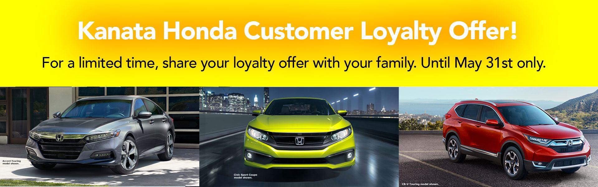 Customer Loyalty Offer