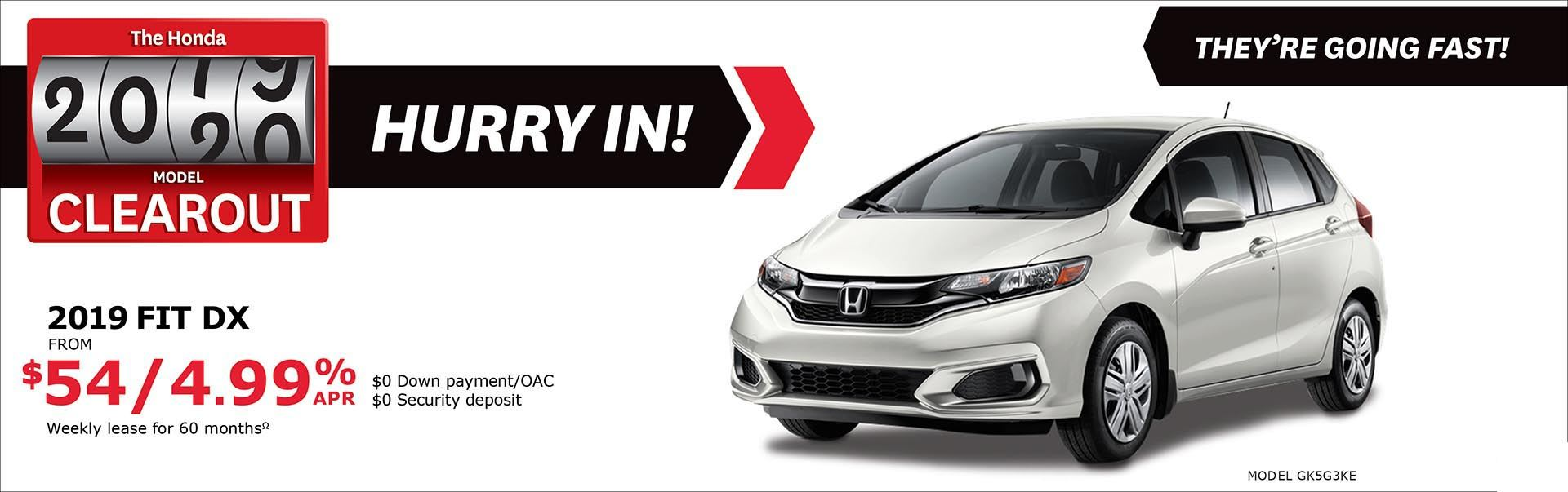 Save on Fit at Kanata Honda