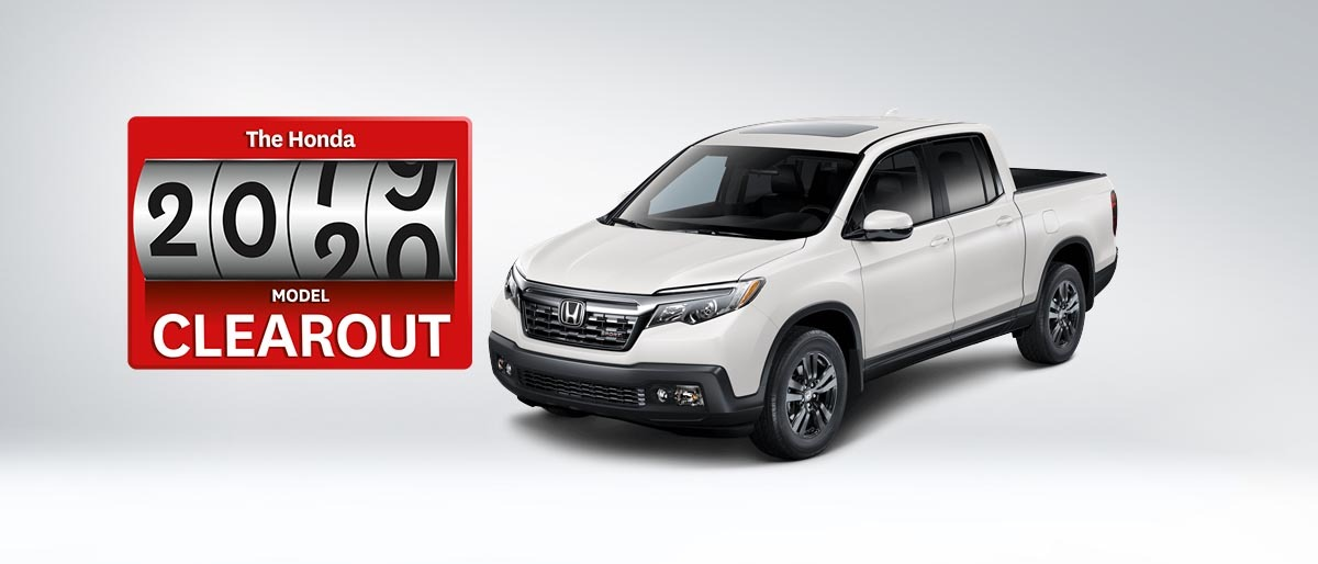 2019 Ridgeline from $135 Weekly