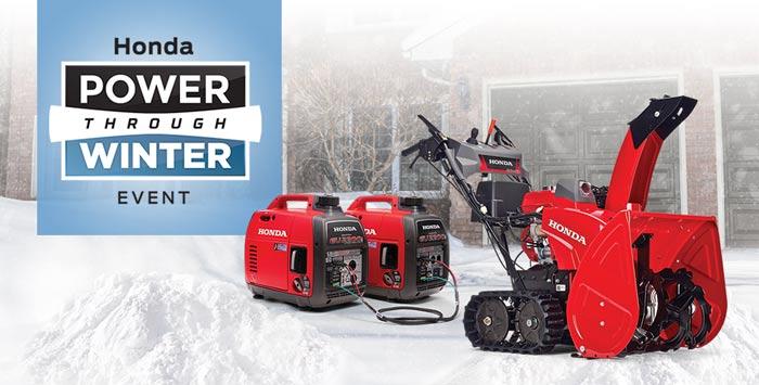 Power Through Winter Event: Snowblowers + Generators