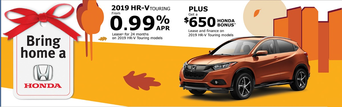 2019 HR-V with $650 Bonus