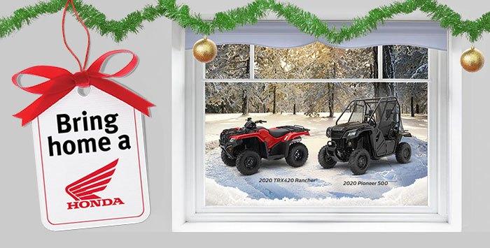 Bring Home a Honda Event: ATV & SXS