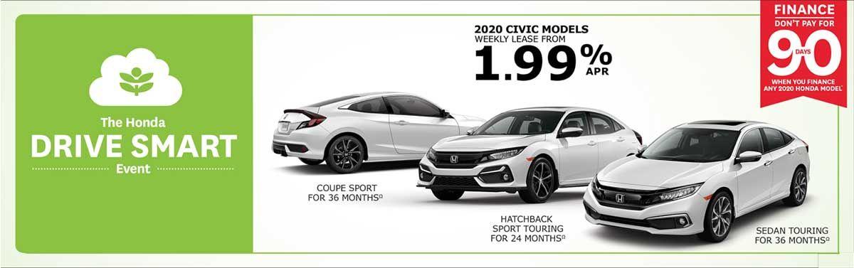 Great Civic savings at Kanata Honda