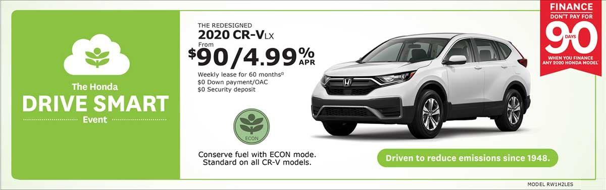 Save on CR-V at Kanata Honda