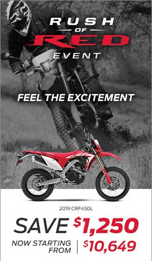 Save on the Honda CRF450L