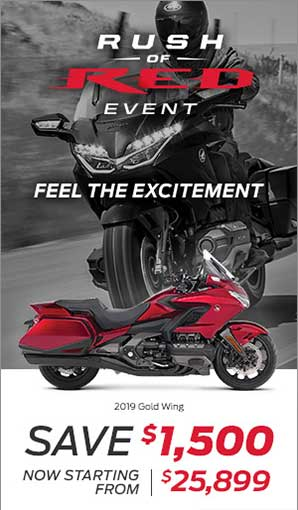 Save on 2019 Goldwing