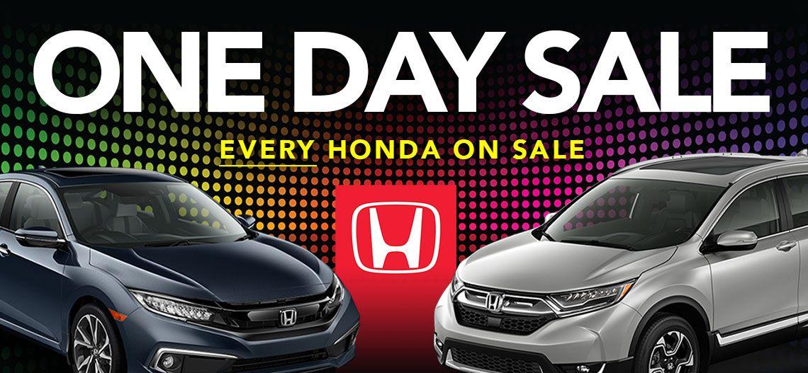 One Day Sale at Kanata Honda