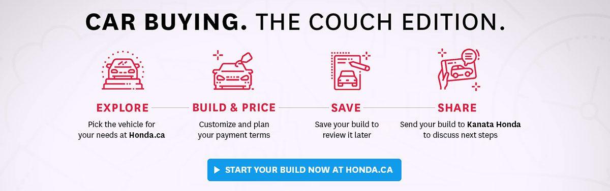 Purchase from home with Kanata Honda