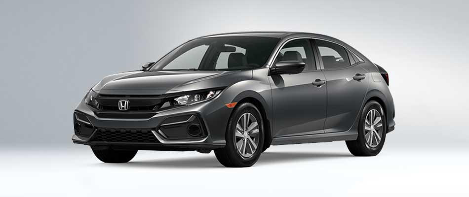 2020 Civic Hatch from $80 Weekly